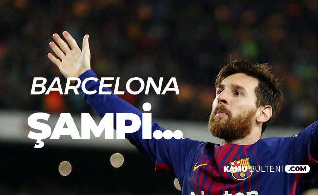 Atletico Madrid Puan Kaybetti! La Liga'da Barcelona'nın Şampiyonluğuna Kesin Gözle Bakılıyor