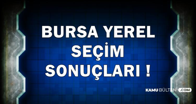 Bursa 31 Mart 2019 Yerel Seçim Sonucunda Son Durum-Mustafa Bozbey mi , Alinur Aktaş mı?