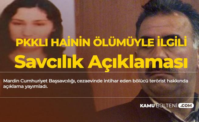 Cezaevinde İntihar Eden PKK'lı Teröristle İlgili Savcılıktan Açıklama