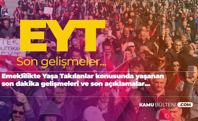 Emeklilikte Yaşa Takılanlar Konusunda Son Gelişmeler! İYİ Parti, Saadet Partisi ve CHP'den EYT Tepkisi