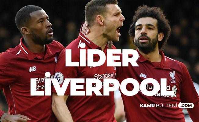 Fulham'ı Babel'in Golü de Kurtaramadı! Premier Lig'de Lider Maç Fazlasıyla Liverpool!