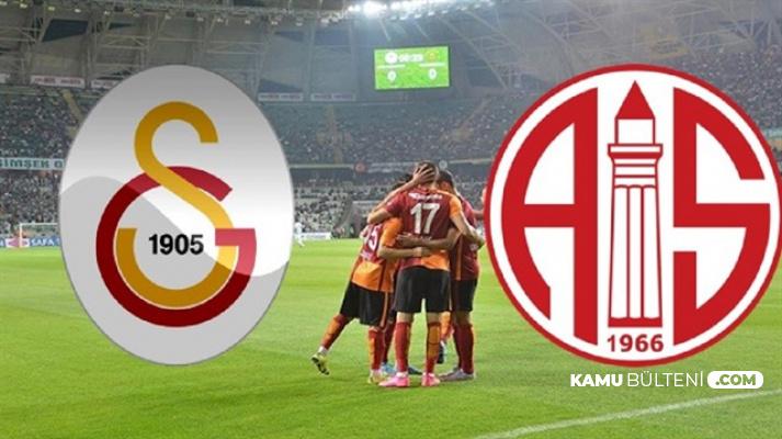 Galatasaray: 5 Antalyaspor: 0 Süper Lig Maç Özeti (Lig Puan Durumu)