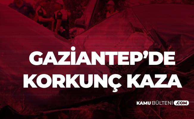 Gaziantep'te Korkunç Kaza! 2 Ölü, 5 Yaralı