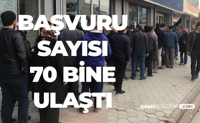 Haberi Duyan Bankaya Koştu! TOKİ Evi için Başvuru Sayısı 70 Bine Ulaştı