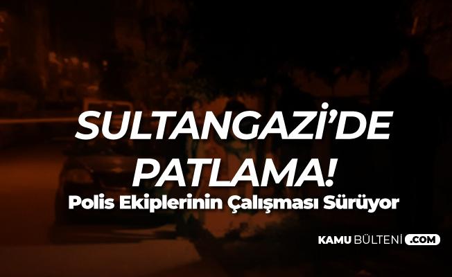 İstanbul Sultangazi'deki Patlamada Ölen ya da Yaralanan Yok
