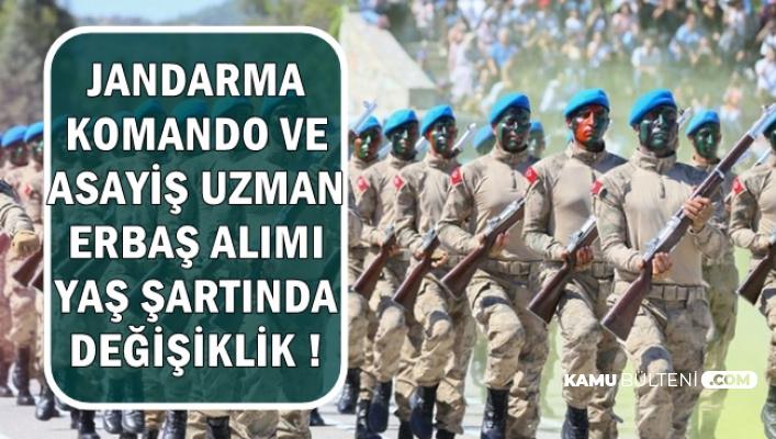 Jandarma Komando ve Asayiş Uzman Erbaş Alımında Yaş Şartı Değişti