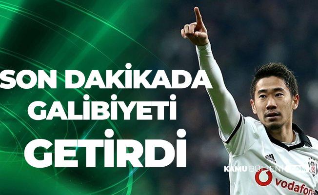 Kagawa mı ,Tsubasa Mı? Kagawa Son Dakikada Attı, Beşiktaş 3 Puanı Kaptı