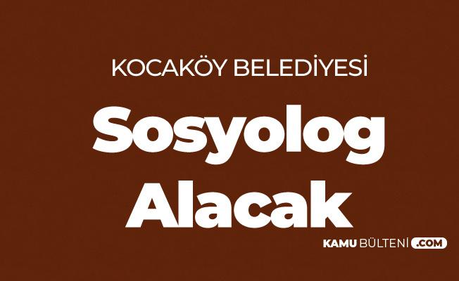 Kocaköy Belediyesi'ne Sosyolog Alımı Yapılacak