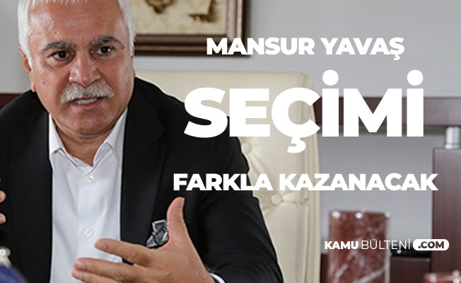 Koray AYDIN: Mansur YAVAŞ Ankara'da Seçimi Farkla Kazanacak