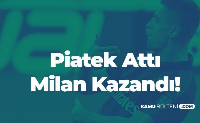 Milan Chievo Deplasmanında Kazanmasını Bildi! Piatek Takımını Sırtladı