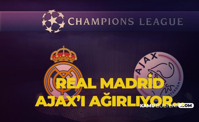 Real Madrid Ajax Maçı Saat 23.00'da Başlayacak! Maç Canlı Olarak O Kanalda Yayınlanacak