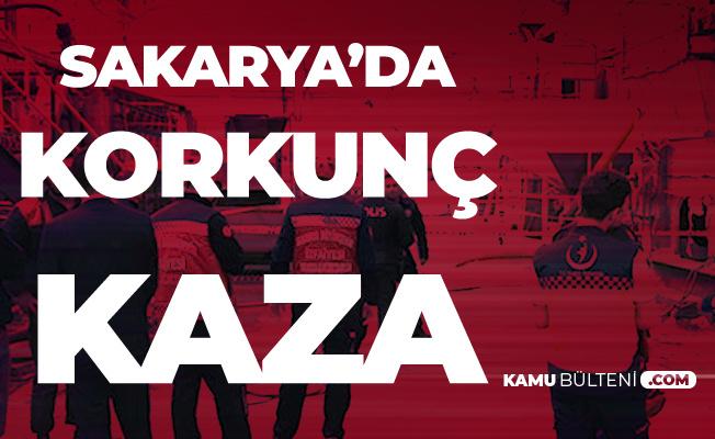 Sakarya'da Korkunç Kaza! Talihsiz İşçi Feci Şekilde Can Verdi