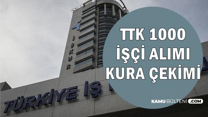 TTK 1000 İşçi Alımı Kura Çekimi Başladı-Kurada Torpil mi Var? (Sonuçlar ve İŞKUR Listesi)