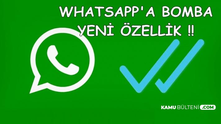 WhatsApp'a Flaş Yeni Özellik: Attığınız Mesaja Tıkladığınızda..