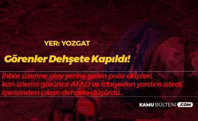 Yozgat'ta Korku Filmi Gibi Olay! İhbar Yerine Giden Polisler Dehşete Düşüren Görüntüyle Karşılaştı