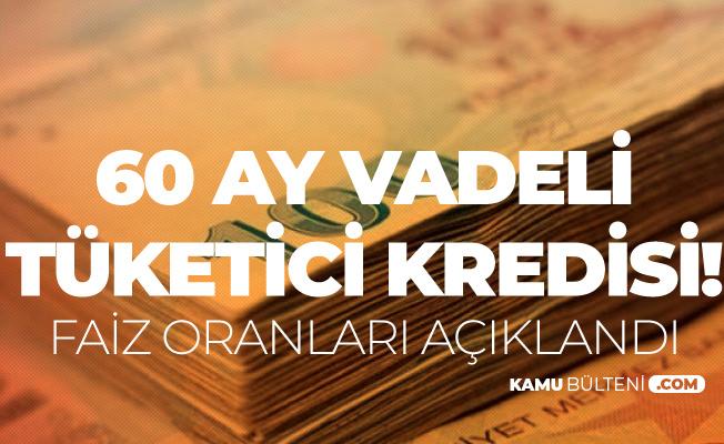 Ziraat Bankası'ndan 60 Ay Vade İle Düşük Faizli Tüketici Kredisi