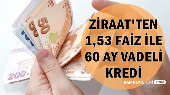 Ziraat'ten 60 Ay Vade ile Düşük Faizli İhtiyaç Kredisi-İşte Kredi Hesaplaması ve Başvurusu