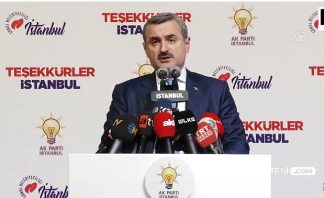 AK Parti İstanbul İl Başkanından Açıklama: Sonucu Etkileyecek 319 Bin 570 Oy