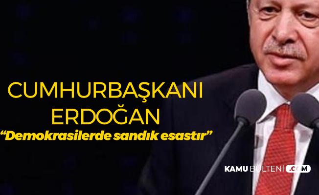 Cumhurbaşkanı Erdoğan'dan Venezuela'daki Darbe Girişimiyle İlgili Açıklama