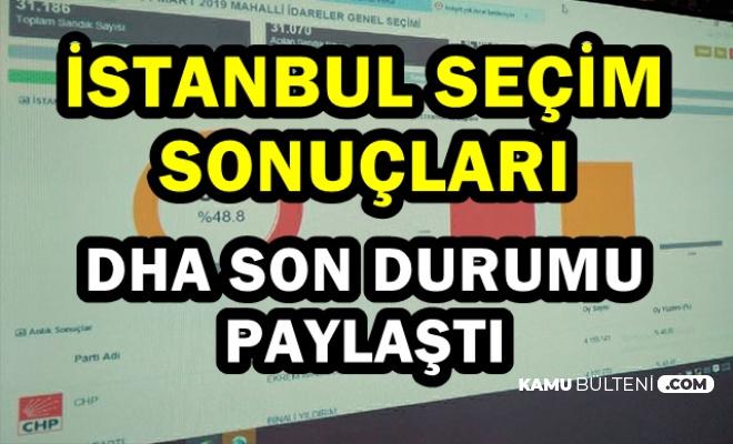 DHA Paylaştı: İşte YSK'nın İstanbul Seçim Sonucu Açıklaması