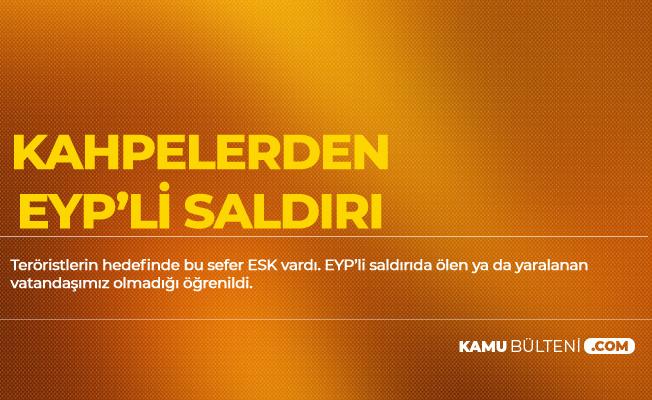 Diyarbakır'da ESK'ya EYP'li Hain Saldırı!