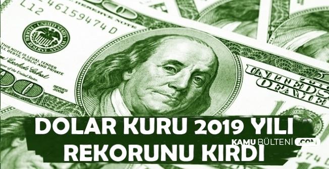 Dolar 2019 Yılı Rekorunu Kırdı (25 Nisan Güncel Döviz Kuru ve Altın Fiyatları)