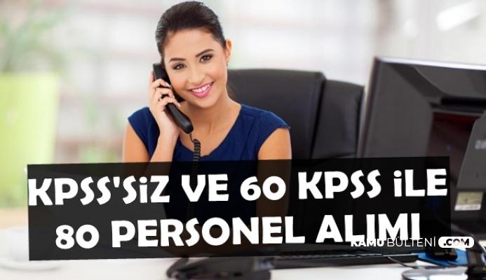En Az İlkokul Mezunu Kamu Personeli Alımı Başvurusu Bitiyor-KPSS'siz 60 KPSS ile