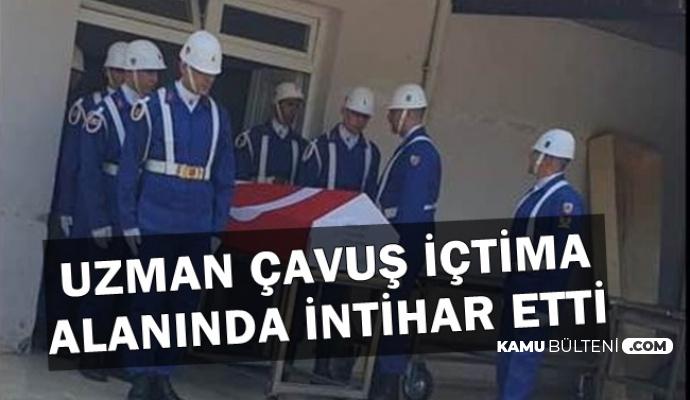 Flaş: İstanbul Havalimanı'nda Görevli Uzman Çavuş İntihar Etti