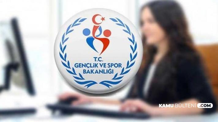 Gençlik ve Spor Bakanlığı İşçi Alımı Mülakat Tarihleri Açıklandı (GSB Evrak Teslimi)
