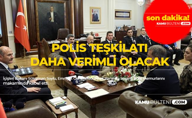 İçişleri Bakanı'ndan Polisler için 8-24 Çalışma Sistemi Açıklaması
