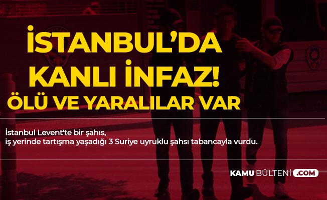 İstanbul'da Kanlı İnfaz! Ölü ve Yaralılar Var