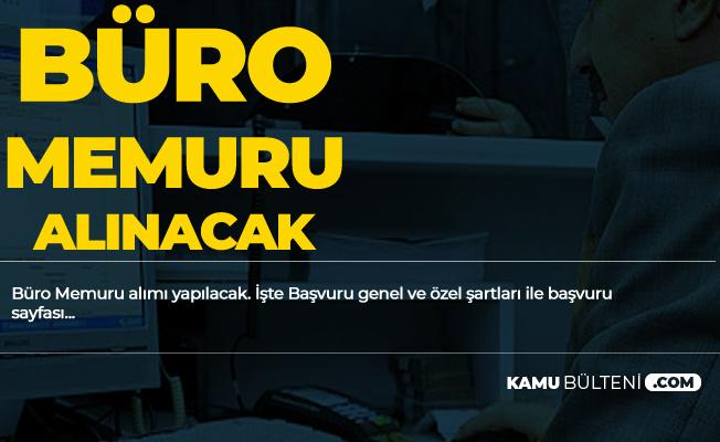 İstanbul Üniversitesi Büro Memuru Alımı Başvuru Şartları ve Başvuru Yöntemi