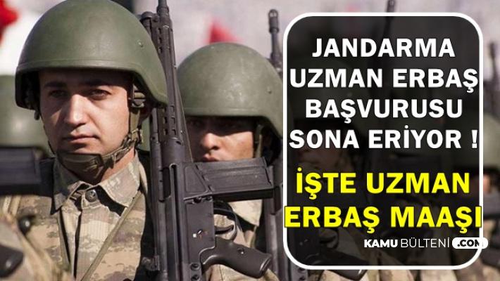 Jandarma Komando-Asayiş Alımı Başvurusu Bitiyor-İşte Uzman Erbaş Maaşı ve JÖH Alımı