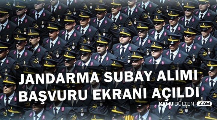 Jandarma Subay Alımı Başvuru Ekranı Açıldı (2019 JÖH Alımı)