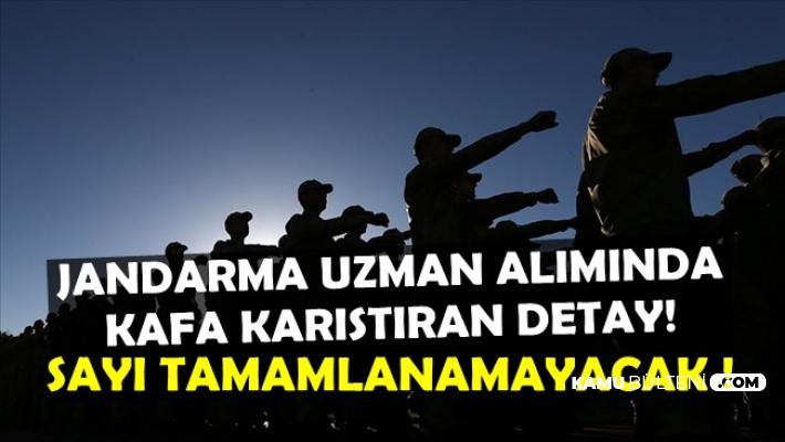 2019 Jandarma Asayiş-Komando Uzman Erbaş Alımında Sayı Tamamlanamayacak