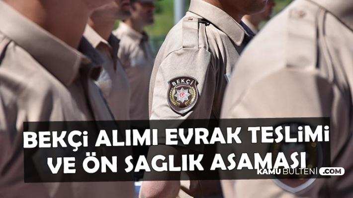 Polis Akademisi Bekçi Alımında İlk Süreç Başladı