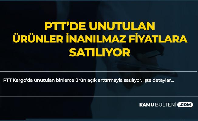 PTT'de Unutulan Ürünler Ucuza Satılıyor! Ayakkabı, Cep Telefonu , Saat , Çanta