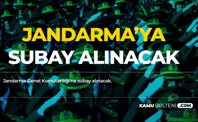 Son Günlere Girildi! Jandarma'ya Subay Alımı Yapılıyor