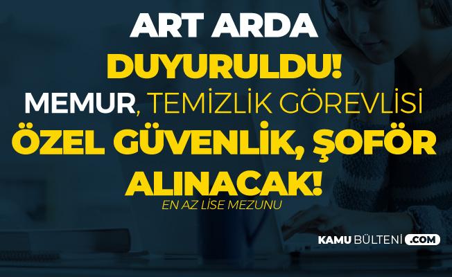 TÜBİTAK , ESK ve Ankara Müzik ve Güzel Sanatlar Üniversitesi'ne Personel Alınacak (Memur Alımı, Hizmetli Şoför, Teknisyen)