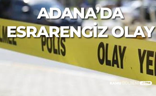 Adana'da Esrarengiz Olay! Cinayet mi, İntihar Mı?