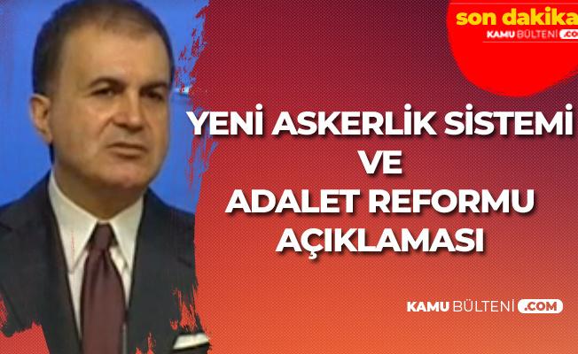 AK Parti'den Son Dakika Yeni Askerlik Sistemi ve Adalet Reformu Açıklaması  (Şartlı Ceza İndirimi Geliyor Mu?)