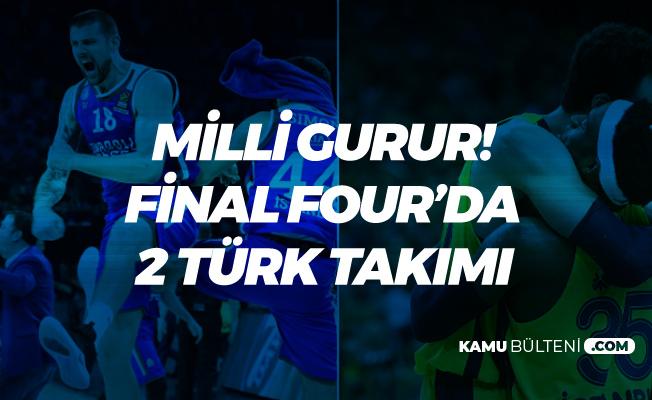 Anadolu Efes Barcelona'yı Barcaladı! Final Four'da İki Türk Takımı Karşılaşacak