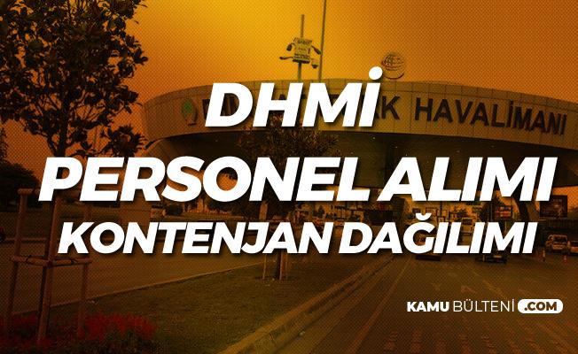 DHMİ Personel Alımı Şehir Dağılımı (Başvuru Linki, Şartları ve Diğer Detaylar)