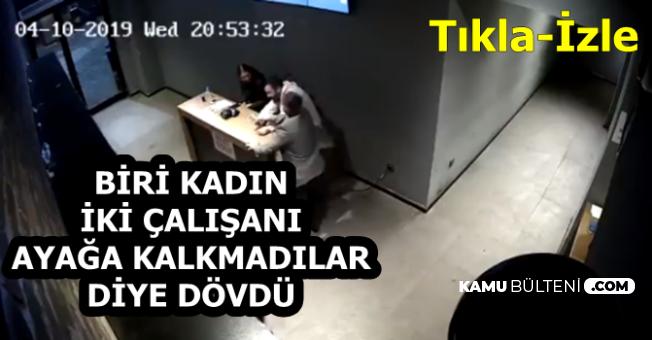 Eğlence Mekanının Sahibi, Biri Kadın İki Çalışanını Dövdü