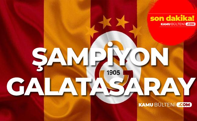 Galatasaray Başakşehir Maçı Bitti! Galatasaray Şampiyon!