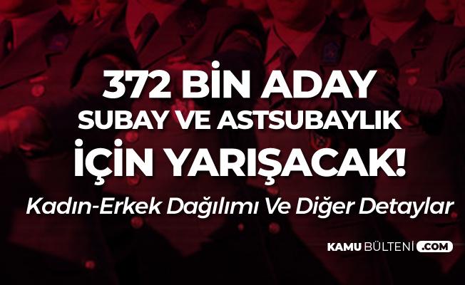 Gençlerin Subay ve Astsubaylık Hayali! (2019 MSÜ)Sınava Başvuranların Çoğunluğu..