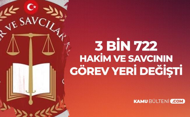HSK Kararnamesi Yayımlandı! 3 bin 722 Hakim ve Savcı'nın Görev Yeri Değişti