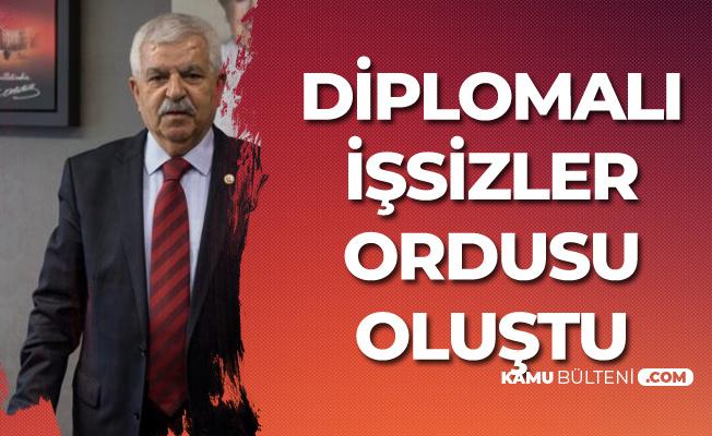 İmam Hüseyin Filiz: Diplomalı İşsizler Ordusu Oluştu!