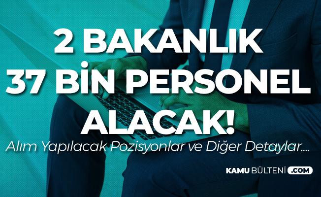 Jandarmaya 27 Bin, Adalet Bakanlığı'na 10 Bin Yeni Personel Alımı Yapılacak ( Memur Alımı, Uzman Erbaş, Subay- Astsubay)