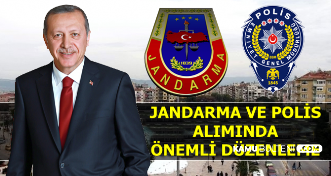 Erdoğan Açıkladı: Kadın-Erkek Jandarma ve Polis Alımı İçin Önemli Düzenleme